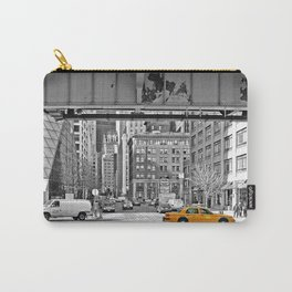 NYC Yellow Cabs Fish Market Carry-All Pouch