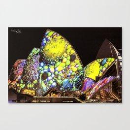 Vivid Festival Sydney (2) Canvas Print