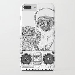 Silent Night ANALOG zine iPhone Case