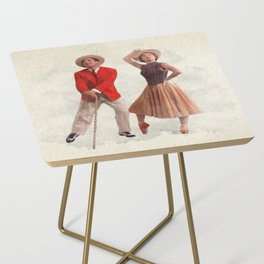 An American in Paris - Watercolor Side Table
