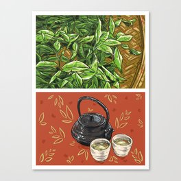 Foodie: It's Tea Time Canvas Print