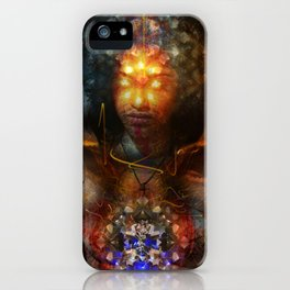 Eyes Of The Beholder iPhone Case