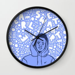 Earl Sweatshirt. Wall Clock