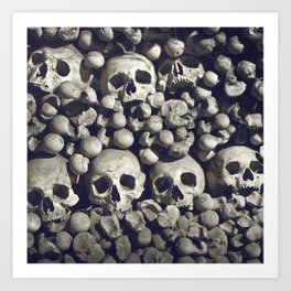 Bored to death Art Print