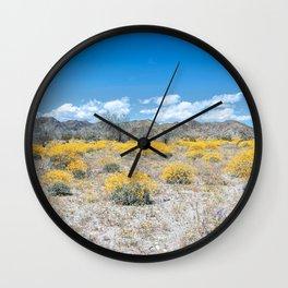Super Bloom 7292 Paradise Joshua Tree Wall Clock