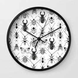 Bugz Wall Clock