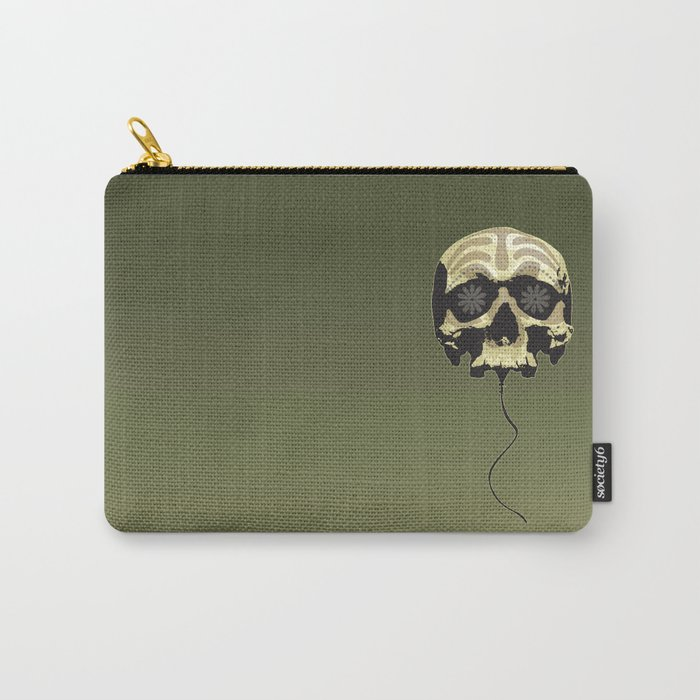 Balloon skull Carry-All Pouch