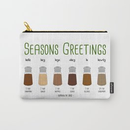 Sweet Seasons Greetings Carry-All Pouch