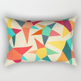 Dancing Stars Rectangular Pillow