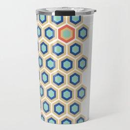 Digital Honeycomb Travel Mug