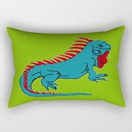 The Phenomenal Iguana Rectangular Pillow