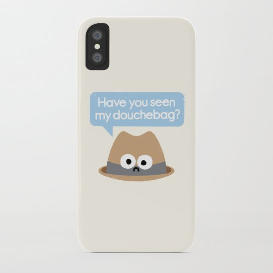 Missing Person iPhone Case