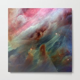 The Orion Gas Clouds Metal Print