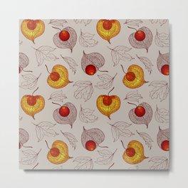 fruits of Physalis Metal Print