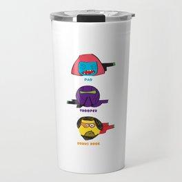 "Cartoonish heroes ""Rogue one"" Travel Mug"