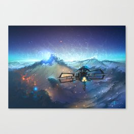 The Sea Of Space Canvas Print