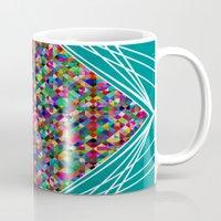 knit Mugs featuring Diamond Knit by Glanoramay
