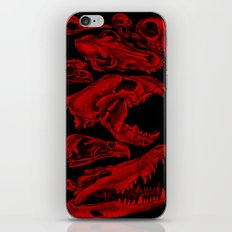Carnivores in Red iPhone & iPod Skin