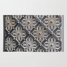 Metallic And Decorative - Grey Monochrome #decor #society6 #buyart Rug