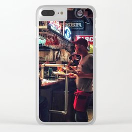 Bar & Restaurant Clear iPhone Case