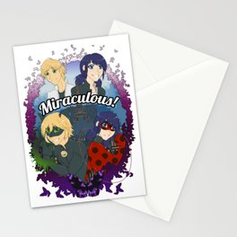 Miraculous Heroes of Paris Stationery Cards