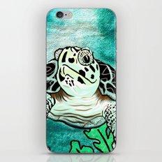 Myrtle Turtle. iPhone & iPod Skin