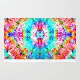 Rainbow Sunburst Rug