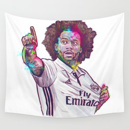 Real Madrid Marcelo Wall Tapestry