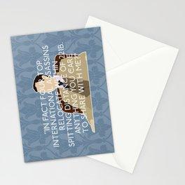 The Reichenbach Fall - Mycroft Holmes Stationery Cards