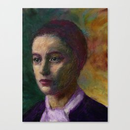 Stieglitz Girl Canvas Print