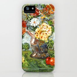 Flowers,  Fruit and a Cathedral iPhone Case