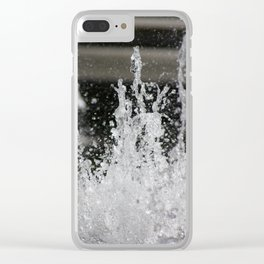 Water16 Clear iPhone Case