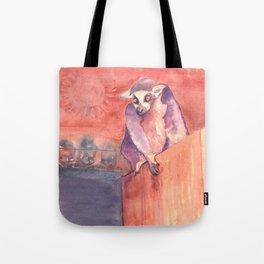 Madagascar's lemur catta Tote Bag