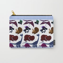 Cute Dinosaur Group Carry-All Pouch
