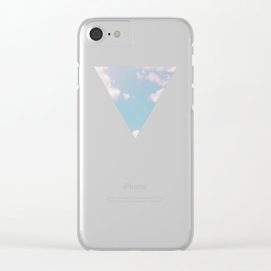 Every Cloud Has a Pink Lining Clear iPhone Case