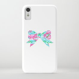 Lilly Pulitzer Bow iPhone Case
