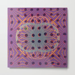 Dot - 3D graphic Metal Print
