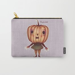 Pumpkin Witch Carry-All Pouch