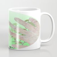 tote bag Mugs featuring Bag by Art Barf