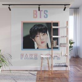 BTS Fake Love Design - Jin Wall Mural