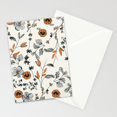 Floral pattern Flowers Stationery Cards