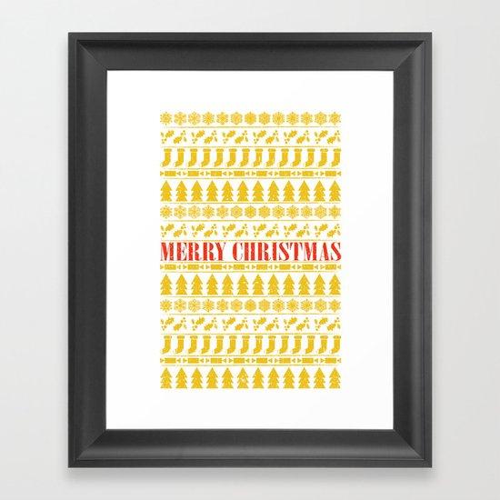 Christmas Merry! Framed Art Print