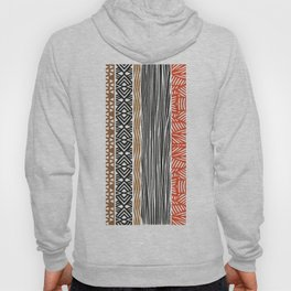 African Tribal Pattern No. 156 Hoody