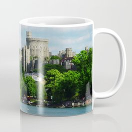 Windsor Castle from the River Thames Coffee Mug