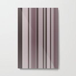 Stripes in colour 11 Metal Print