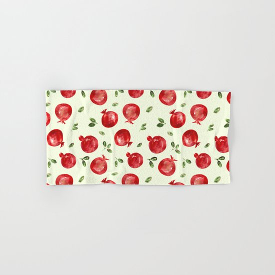 Pomegranate vibes Hand & Bath Towel