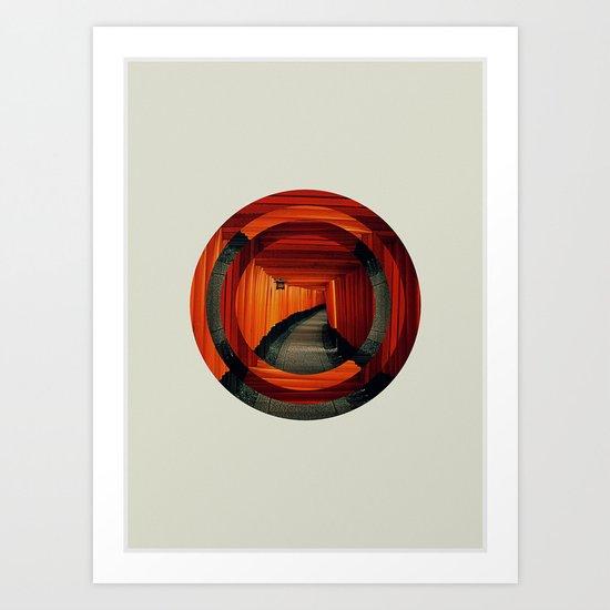 Inari Art Print