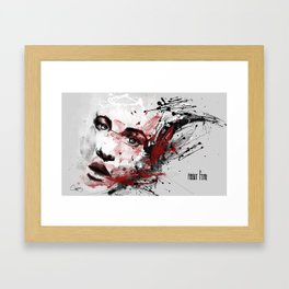 about fear Framed Art Print