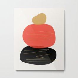 Modern minimal forms 2 Metal Print