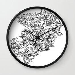lines draw Wall Clock